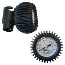 Bravo In-line Pressure Gauge - Bayonet Fit - 0-1 Bar