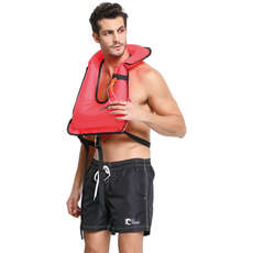 Cressi Snorkelling Safety Vest PFD - Red