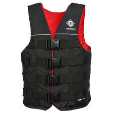 Crewsaver Four B 70N Ski Vest - Black/Red