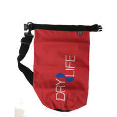 Dry Life 5L Dry Bag & Shoulder Strap - Red