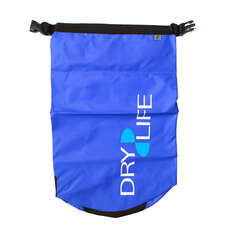 Dry Life 15L Dry Bag & Shoulder Strap - Blue