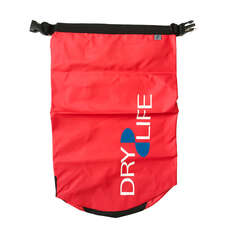 Dry Life 15L Dry Bag & Shoulder Strap - Red