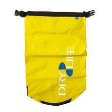 Dry Life 15L Dry Bag & Shoulder Strap - Yellow