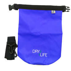 Dry Life 2.5L Dry Bag & Shoulder Strap - Blue