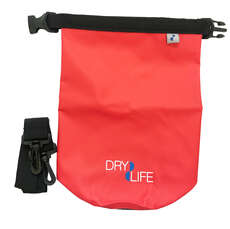 Dry Life 2.5L Dry Bag & Shoulder Strap - Red