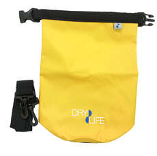 Dry Life 2.5L Dry Bag & Shoulder Strap - Yellow