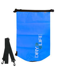 Dry Life 30L Dry Bag & Shoulder Strap - Blue