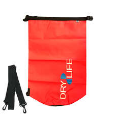 Dry Life 30L Dry Bag & Shoulder Strap - Red