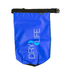 Dry Life 5L Dry Bag & Shoulder Strap - Blue