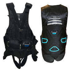 Forward Sailing EXO Trapeze Harness with Lumbar Support