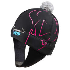 Forward Sailing Neoprene Beanie - Black/Pink