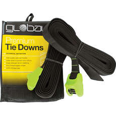 Global Tie Down Straps - 4m x 30mm (Pair)
