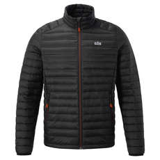 Gill Hydrophobe Down Jacket - Black/Orange