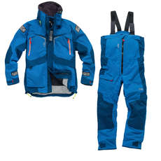 Gill OS23 Jacket & Trouser Sailing Kit Combo 2018 - Blue/Blue