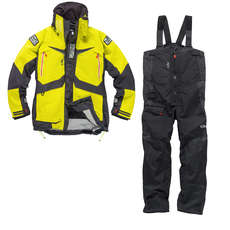 Gill OS23 Jacket & Trouser Sailing Kit Combo 2018 - Lime/Graphite