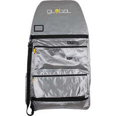 "Global SX3 Triple Padded Bodyboard Bag / Backpack - 42"" - Silver"