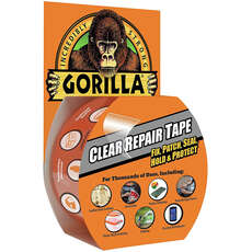 Gorilla Clear Repair Tape - 48mm x 8.2m - Clear