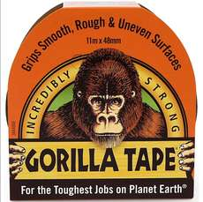 Gorilla Tape - Black - 48mm x 11m