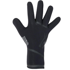 2020 Gul Flexor 4mm Wetsuit Gloves - Black - GL1223-A9