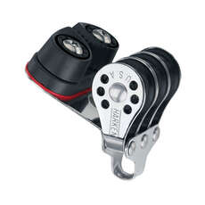 Harken 230 Triple Micro 22mm Block w/Cam Cleat