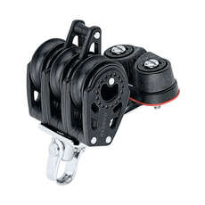 Harken 347 29mm Triple Carbo Block - Becket, Cam Cleat