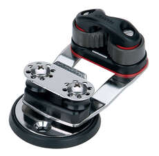 Harken 462 Micro Cam Base With Swivel & 16mm Sheaves