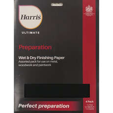 Harris Ultimate Wet & Dry 4 Pack - Assorted