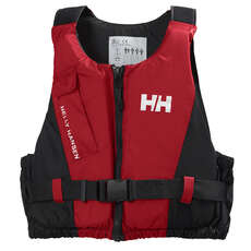 Helly Hansen Junior Rider Vest Buoyancy Aid  - Red/Black