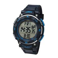 Limit ProXR Mens Digital Water Sports Watch - Black/Blue