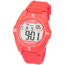 Limit Junior / Ladies Countdown Digital Watch - Coral Red