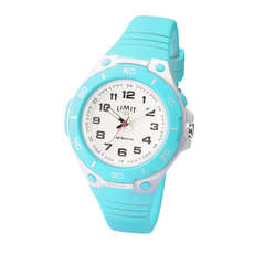 Limit Junior / Ladies Sports Analogue Watch - White/Aqua