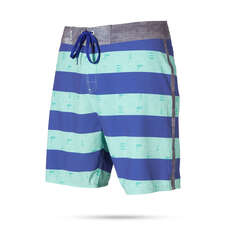 Mystic Kitesurfing Boardshort 2019 - Lighthouse 18 Blue