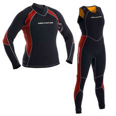 Neil Pryde Womens Elite Firewire Sailing 3mm Wetsuit Combo Black/Plum