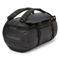 Northcore 110L Surfers Travel Duffel Bag / Back Pack - Black / Grey