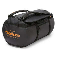 Northcore 110L Surfers Travel Duffel Bag / Back Pack - Black / Orange