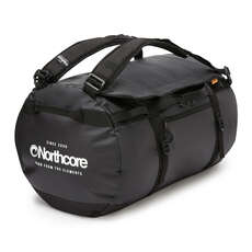 Northcore 110L Surfers Travel Duffel Bag / Back Pack - Black / White