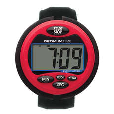 Optimum Time Event Watch - Red - Equestrian Timer
