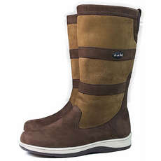 Orca Bay Storm II Leather Sailing Boots - Brown