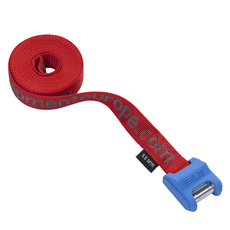 Palm Cam Roof Rack Straps 3.5m - Red