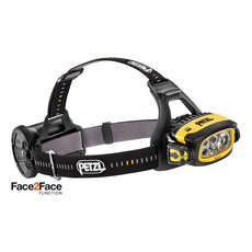 Petzl DUO S 1100L Face2Face Rechargeable Headlamp - Yellow