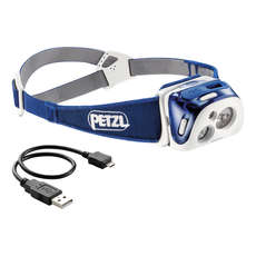 Petzl REACTIK® 220L Rechargeable Headlamp - Blue