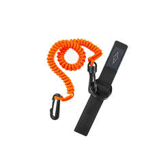 Point 65 Paddle Leash Coiled - Orange