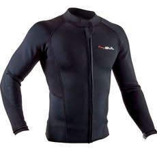 2020 Gul Response 3mm FL Wetsuit Jacket - Black - RE6304-B7