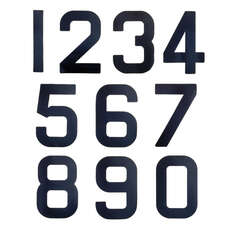 Replacement Sail Numbers - 300mm - Black