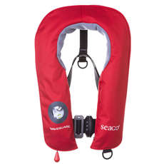 Seago Waveguard Junior 150N Lifejacket 2019 - Red - Auto / Harness