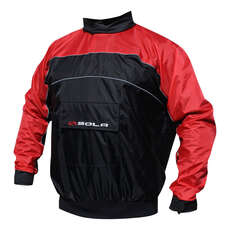 Sola Blast Spray Top - Waterproof / Windproof / Breathable - Black/Red