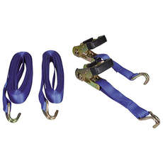 Talamax Tie Down Ratchet Straps - 28mm x 6m [PAIR]