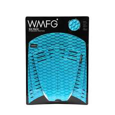 WMFG Kiteboard Traction Pad - Classic Six Pack Full Pad - Teal