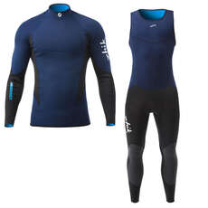 Zhik Microfleece V Skiff Suit / Top Kit Bundle
