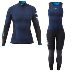 Zhik Womens Microfleece V Skiff Suit / Top Kit Bundle